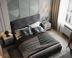 Small Room Design, Bed Back, Wall Design, Future House, Minimalism, Photo Wall, Contemporary, Interior Design, Bedroom