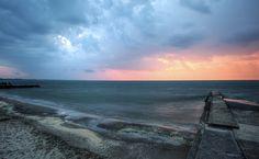 Brian Gray Photography: Lake Erie from Mitiwanga
