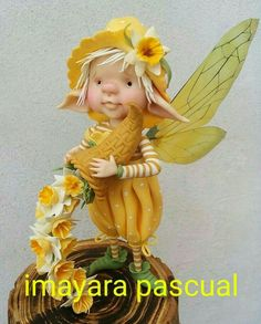 Кукла Elves And Fairies, Clay Fairies, Polymer Project, Dragons, Kobold, Marionette, Fairy Figurines, Baby Fairy, Clay Baby