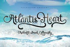 Atlantis Heart  by feydesign on @creativemarket