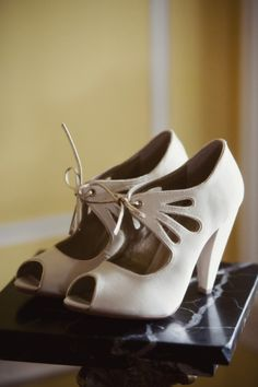 Whimsical retro shoes