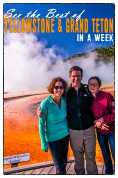 A kid-friendly itinerary for Yellowstone & Grand Teton National Parks if you only have a week.