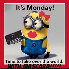 Minions and Mascara, you can't go wrong! Let me help you with the mascara! 3d Mascara, 3d Fiber Lashes, 3d Fiber Lash Mascara, Mascara Younique, Younique Party Games, Join Younique, Foundation, Minions Love, Magical Makeup