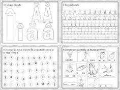 EDUCATIA CONTEAZA: Literele G, H, Ă, Î, Â Thing 1, Word Search, School, Calendar, Kawaii, Google, Crafts, Colors, Double Deck Bed