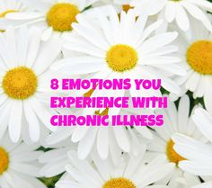 The emotions chronic illness bring can be frustrating. My experience with crohn's disease meant I experienced lots of different emotions.