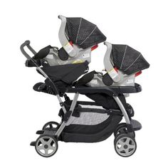 Amazon.com : Graco Ready2Grow LX Baby Stoller & SnugRide 30 Twin Travel System - Surrey : Infant Car Seat Stroller Travel Systems : Baby