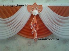 Цветы из ткани для штор своими руками. Hand Fan, Decor Styles, Home Appliances, Curtains, Display, Tablecloth Curtains, Border Tiles, Fabric Flowers, Manualidades