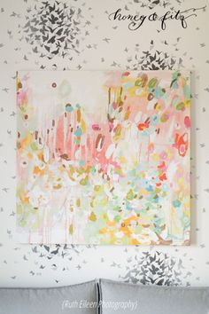 The Last 10% of Decorating - My favorite Michelle Armas abstract