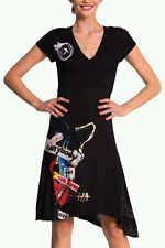DESIGUAL* T.M, L ó XL -  DRESS ROBE VESTIDO VEST_DO - NEW.