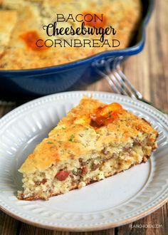 Bacon Cheeseburger CornbreadReally nice recipes. Every hour.Show  Mein Blog: Alles rund um Genuss & Geschmack  Kochen Backen Braten Vorspeisen Mains & Desserts!