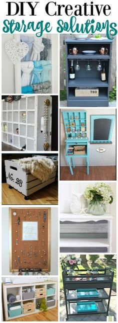 You will love these DIY Creative Storage Solutions
