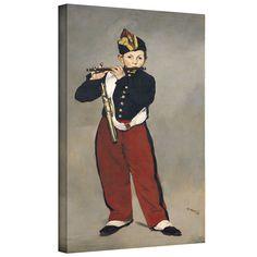 ArtWall Art Wall Edouard Manet 'The Fifer' Gallery-wrapped (10x18)