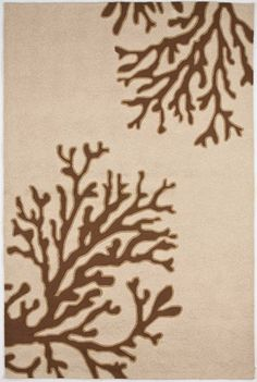 """""""Grant Collection"""" Bough Out Design Indoor/Outdoor Rug"""