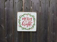 Merry & Bright Made by The Primitive Shed, St. Catharines