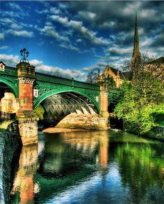 Kelvinbridge,Glasgow, Scotland. Our tips for thing to do in Glasgow: http://www.europealacarte.co.uk/blog/2011/01/11/things-to-do-in-glasgow-short-break/