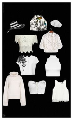 """Black and White- Monochrome Masterpiece #1"" by jbjb2213 ❤ liked on Polyvore"