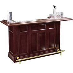 Regal Mahogany Finish Pub Home Bar- Classic design