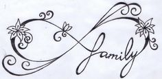 Like this tattoo but with initials JMK instead of family on it!