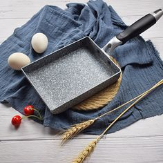 Omelette pan Non-Stick Cooking Stone Wheat pan Aluminum Alloy Frying pan Pancake pan egg Cooker Material Aluminum Alloy Cooking Stone, Cooking Tools, Omelette Pan, Pancake Pan, Griddle Grill, Stir Fry Pan, Stainless Steel Dishwasher, Griddles, Home