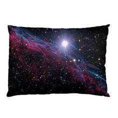 c94024999f Block Big Nebula Galaxy Outer Space Universe Bed Pillow Case