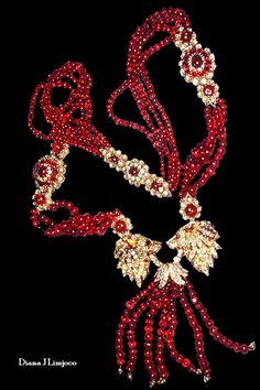 Imelda Marcos' Ruby and Diamond Necklace