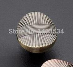 antique brass color Zinc Alloy Kitchen cabinet Furniture knob bedroom drawer knob pulls #Affiliate