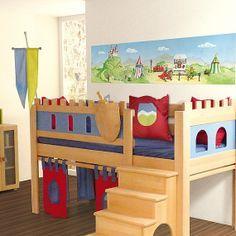 IKEA Kura converted to a Castle theme - really neat!