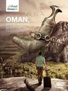 Omantel on Behance