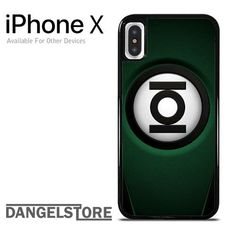 Green Lantern Suit YDP For iPhone X
