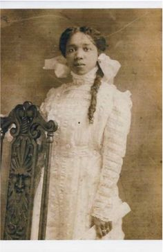 One of the 22 Founders of Delta Sigma Theta Sorority Ethel Carr Watson. Soror Watson graduated Magna Cum Laude from Howard University in 1913