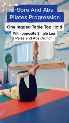 Pilates Workout Routine, Gym Workout Videos, Floor Workouts, Core Pilates, How To Start Exercising, Pilates For Beginners, Fitness Workout For Women, Sport, Glute Exercises