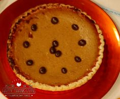 Kahlua Pumpkin Pie. For the recipe click the picture. LIVE with Kelly and Michael Thanksgiving. Thanks to Marie Haycox for the recipes and preparing the pies.