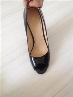 %59 indirimli Nine West Ayakkabı Siyah rugan ayakkabı | Modacruz