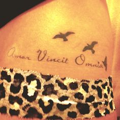 Love conquers all. Placement.