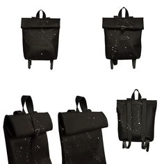 THE COLLECTION - Rollitbags Polino Spattered Black - Now available at www.meesdesign.nl  #mees #handmade #leatherbags #rollitbag #ladies #men #backpack #bags #instafashion #design #leatherbags #conceptstore #ootd #premierevision #fashion #store #pittiuomo #clothing #minimal #highsnobiety #onlineshopping #fashionadict #tradeshow #fashionblogger #fashionweek #capsuleshow #seekberlin #whitetradeshow #agendashow #libertyfairs #tranoi Trade Show, Backpack Bags, Leather Bag, Minimal, Ootd, Backpacks, Store, Clothing, Handmade