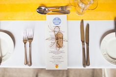 rustic place setting, image by Emma Kenny Photography & Design