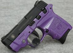 Smith & Wesson BodyGuard 380 Pearl Purple Passion Edition 380 ACP Pistol, Laser BGPURPLEPEARL