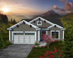 Charming 2 Bedroom Ranch Home Plan - 89860AH | Cottage, Ranch, Narrow Lot, 1st Floor Master Suite, Butler Walk-in Pantry, CAD Available, Den-Office-Library-Study, PDF | Architectural Designs