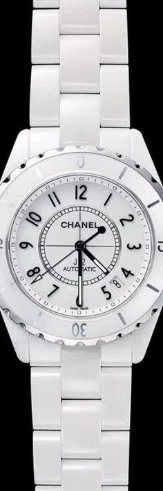 CHANEL J12 WHITE CLASSIC J12 WHITE PHANTOM watch