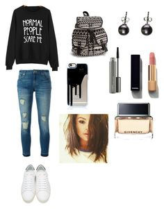 """"""""""" by teebaalhlio ❤ liked on Polyvore featuring MICHAEL Michael Kors, Yves Saint Laurent, NLY Accessories, Black, Chanel, MAC Cosmetics and Givenchy"""