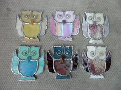 Stained Glass Owl £7.00
