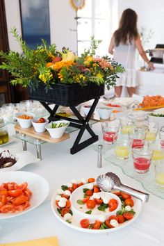 An incredible breakfast buffet awaits the guests of Kivotos Luxury Boutique Hotel in the restaurant La Meduse,