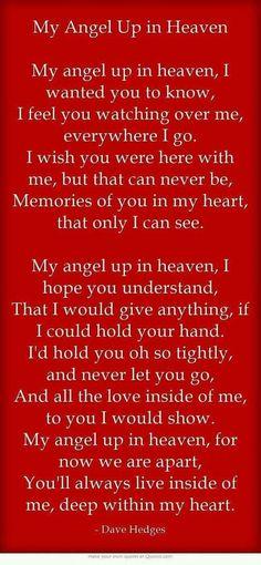 I love you my lil Angel Mama <3 07-09-16