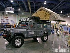 Roof rack tent