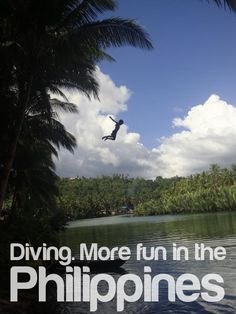 DIVING. More FUN in the Philippines :)