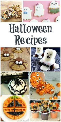 Halloween Recipes and our Delicious Dishes Recipe Party Halloween Recipes Your kids will love these fun and spooky Halloween Treats. The post Halloween Recipes and our Delicious Dishes Recipe Party appeared first on Urlaub. Spooky Halloween, Diy Halloween Party, Halloween Sweets, Halloween Baking, Halloween Goodies, Halloween Cupcakes, Holidays Halloween, Halloween Crafts, Halloween Decorations
