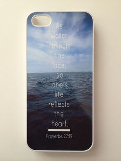 Proverbs 27:19 iPhone Case | Wild Daisy