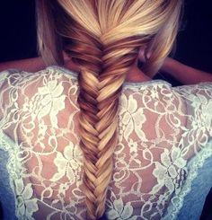 Love a Fishtail braid #TLSFfavthings