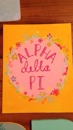 Adpi sorority canvas