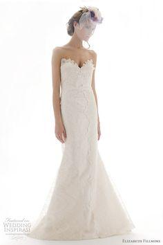 Elizabeth Fillmore Spring 2012 Wedding Dresses   Wedding Inspirasi